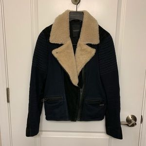 Maison Scotch genuine suede jacket